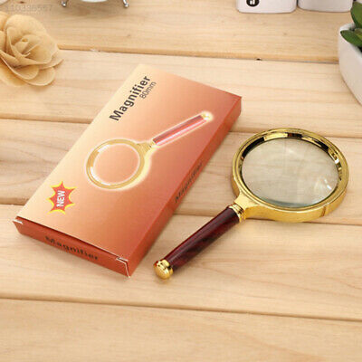 DB2C Handheld Jewelry Classic 10X Magnifier Magnifying Glass Soft Tool Gift