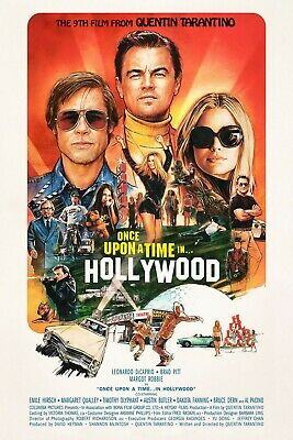 ONCE UPON A TIME IN HOLLYWOOD Theatrical Poster (A1 - A2)