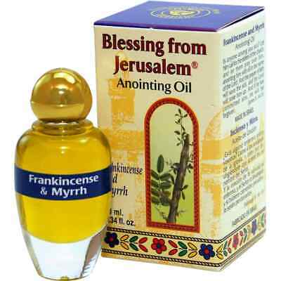 Frankincense and Myrrh Anointing Oil - Blessing from Jerusalem (10 ml.)