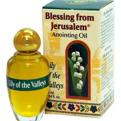 Lily of the Valleys Anointing Oil   - Blessing from Jerusalem (10 ml.)