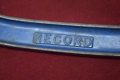 Vintage Record 8 Inch 200mm G-Clamp Old Tools