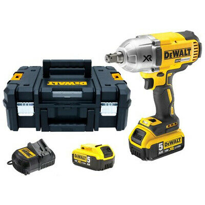 """Dewalt DCF899P2 18V XR Brushless Impact Wrench 1/2"""" Square Drive With 2 X 5.0Ah"""