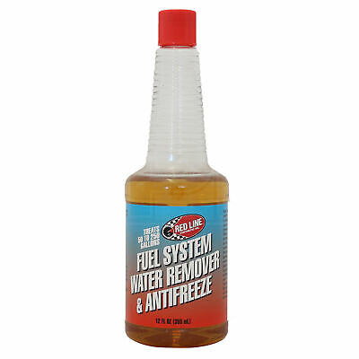 RED LINE Fuel System Water Remover & Antifreeze Redline Treatment 355ml