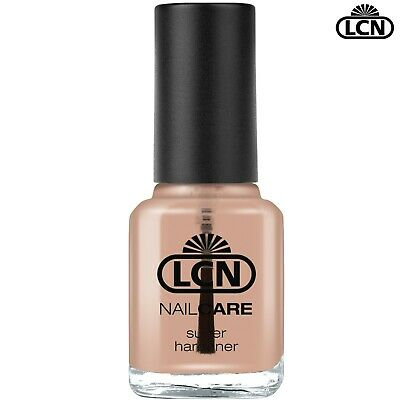 LCN Nails 8ml SUPER Nail Hardener Fast Drying & Shiny Clear Top Coat Non Scratch