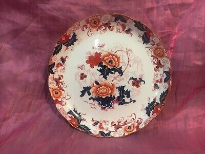 Antique Footed Decorative Dish Cauldon Ware Liverpool 19th Century