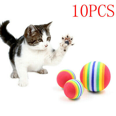 Dog Balls Floating Rubber Balls For Fetch Training-3.5cm for Small Pet Dog Cat D