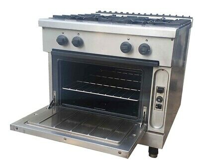 Zanussi Gas 4 Burner 900 Series Stove With 4 Large Boiling Burners And Oven
