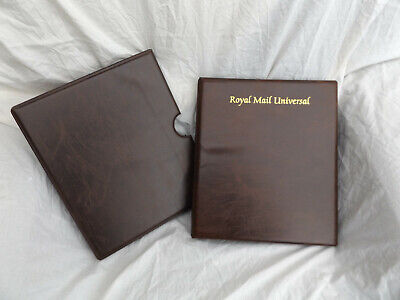 Royal Mail Brown Universal Stamp Album & Slipcase Without Pages