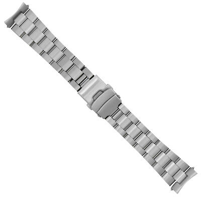 22Mm Oyster Watch Band For Seiko Model 4R36-04Y0, Srp773, Srp775, Srp777, Srp779