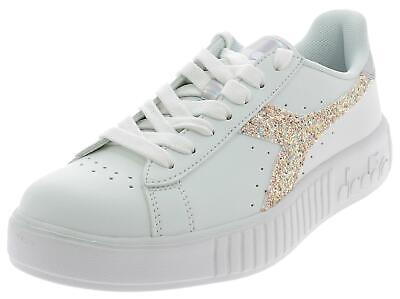official photos 7b005 22ff3 DIADORA GAME P Step Wn Scarpe Sportive Donna Bianche 1750572006