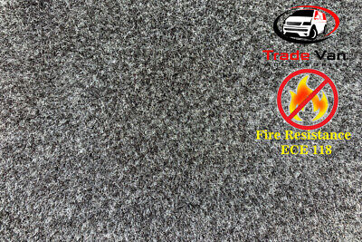 5 sqm Camper Van Lining Carpet Fire Rated Kit Super Stretch Inc 5 Cans Trimfix