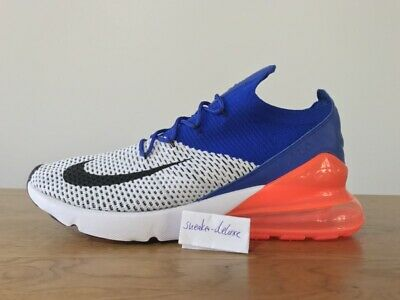 newest collection 4748a f48eb NIKE AIR MAX 270 Flyknit 11.5 10.5 45.5 Neon Be True Vapormax Off White TN  Plus