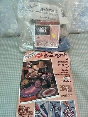 Distlefink Designs - BRAID CRAFT RUG & BASKET KIT By Shirley Botsford Unopened