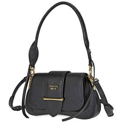 3a8151e171 PRADA SIDONIE SMALL Studded Leather Shoulder Bag Women's - $2,499.99 ...