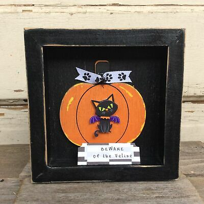 PP1915 Beware of ZOMBIE Plate Rustic Chic Sign Home Store Halloween Decor