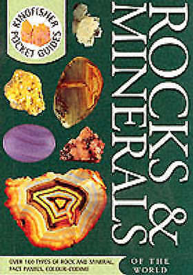 Rocks and Minerals (Kingfisher Pocket Guides), Kirk,Cook , Acceptable, FAST Deli
