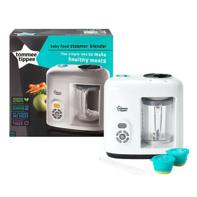 Tommee Tippee Healthy Baby Food Maker -Electric Steamer Blender/Processor Cooker