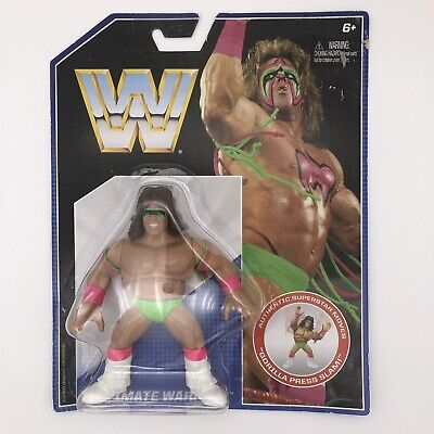 Ultimate Warrior WWE Mattel Retro Series One Wrestling Figure WWF WCW Hasbro 1