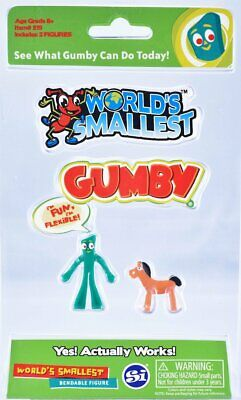 World's Smallest Gumby and Pokey Collectable