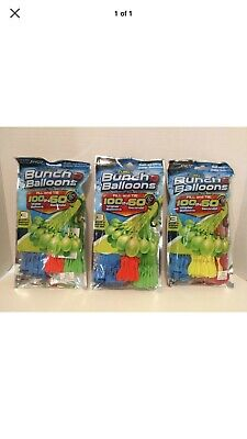 Zuru Bunch O Balloons Lot of 6 Packages of 100 Water Balloons 600 Total