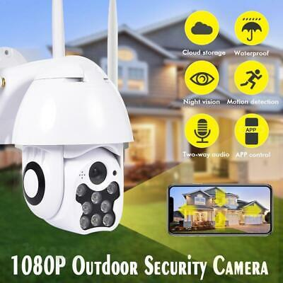 HD 1080P 8LED PTZ Control IP Camera Mini WIFI Outdoor Dome Home Security IP Came