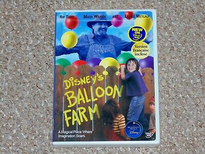 Disney's Balloon Farm DVD 2004 Brand New Canadian Rip Torn Mara Wilson