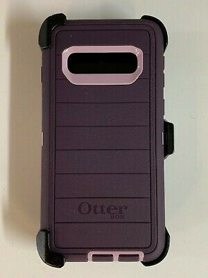 Otterbox Defender Pro Series Case for Samsung Galaxy S10 w/Holster Purple Nebula