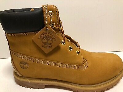 """Timberland Women/'s /""""Premium 6 Inch Limited Edition/"""" Black Leather Boots NIB"""