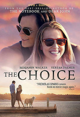 The Choice (DVD + DIGITAL, 2016) NEW/SEALED ***FREE SHIPPING***