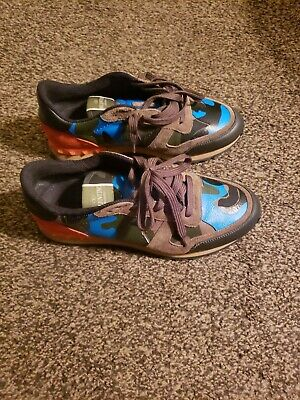 c734163c13ddd VALENTINO ROCKRUNNER SNEAKERS Camouflage Size 8 ( 41 ) - $202.00 ...