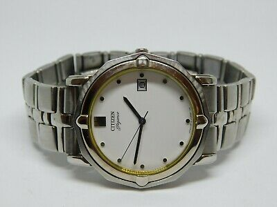 b0ee9b9e2 Citizen Elegance 5510-H15041 Silver Tone Quartz Analog Men's Watch