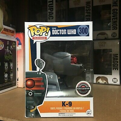 Funko POP Doctor Who 300 Gamestop Exclusive K-9