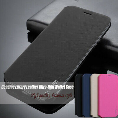 Ultra Slim Luxury Leather Flip Case Wallet Cover for iPhone X XS MAX XR 7 8 6S