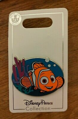 Disney Parks Pin Finding Nemo in Coral with Bubbles June 2019 New On Card NOC OE