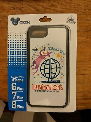 Disney Farewell EPCOT Illuminations 2019 Phone Case Figment Passholder 6s+ 7+ 8+