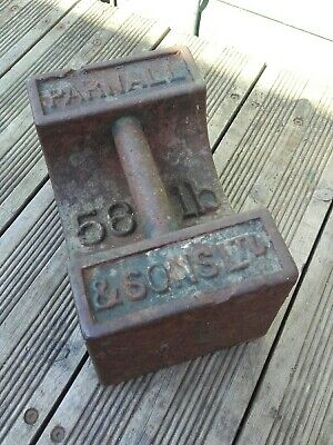 ANTIQUE 56LB CAST IRON WEIGHT. Collection from Swindon in Wiltshire.