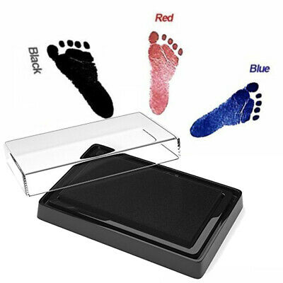 Newborn Baby Safe Inkless Touch Footprint Handprint Ink Pad Free Commemorate