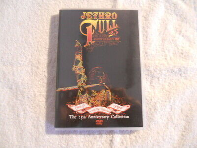 """Jethro Tull """"A new day Yesterday"""" 2003  DVD Chrysalis Records  90 min.  New $"""