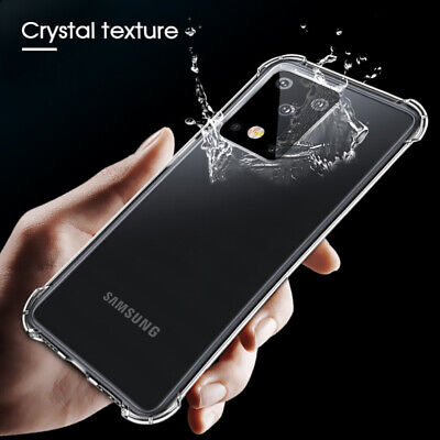 Clear Bumper Silicone Shockproof Case Cover For Samsung Galaxy Note 10 Pro S10+