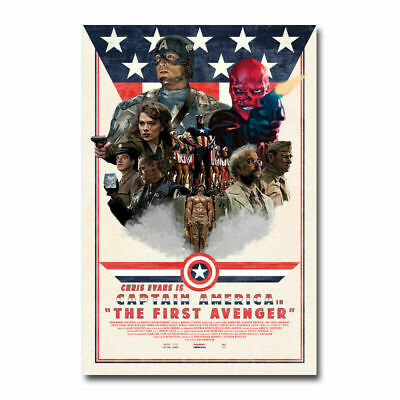 CAPTAIN AMERICA Hot Movie 3 Art Canvas Silk Wall Art Home Decor Print 24x36 inch