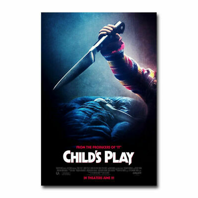 Print Poster Art CHUCKY CHILDS PLAY 2 Horror Movie 14x21 24x36In Y090