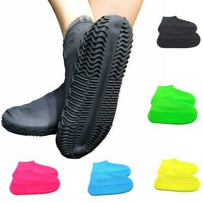 Reusable Rain Silicone Overshoes Waterproof Anti-Slip Shoe Covers Boot Protector