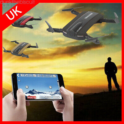 DRONE FOLDABLE JXD 523 Selfie Drone WIFI HD Camera Quadcopter Altitude Hold  UK