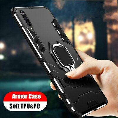 Magnetic Ring Holder Case for Samsung Galaxy A40 A70 A50 A80 Hybrid Armor Cover