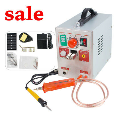 2 in 1 Pulse Spot Welder 709A Battery Welding Soldering Machine 1.9kw 60A FDA CE