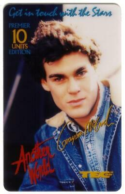 10u Another World TV Show - Grayson McCouch 'Morgan' USED Phone Card