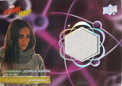 2018 Ant-Man and the Wasp Quantum Anomaly Relic Card QM15 Hanna John-Kamen GHOST