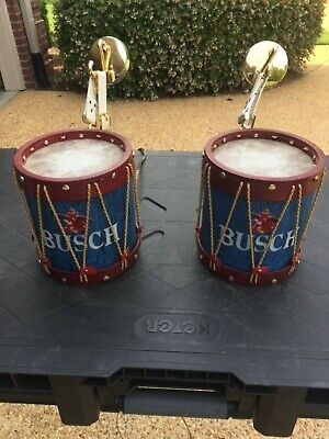 Busch beer drum lights not sure how old they are work fine great for man cave