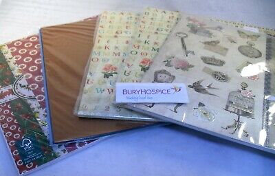 Assorted Card Craft Pack x5 Patterns (WH_8339)