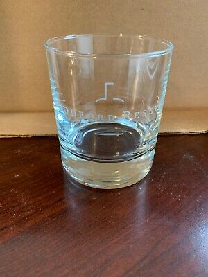 Woodford Reserve 10oz. Rocks Glass Whiskey Etched